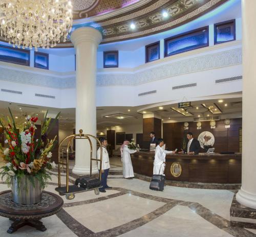 منطقة الاستقبال أو اللوبي في فندق كونكورد مكة