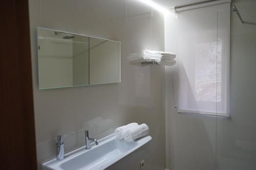 Uma casa de banho em As Cabanas dos Netinhos