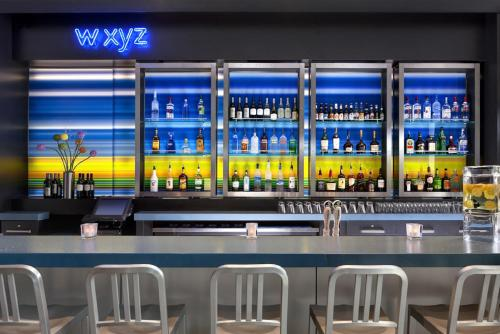 The lounge or bar area at Aloft Brooklyn