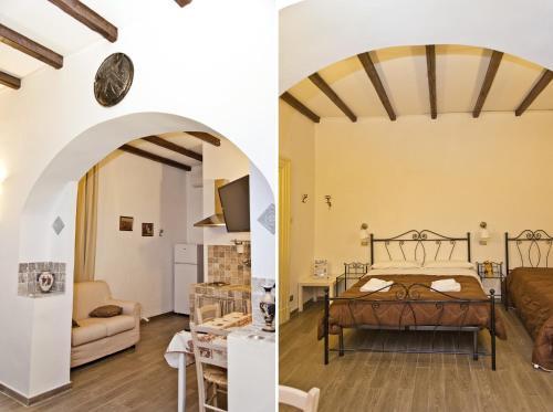 Area soggiorno di Sparta