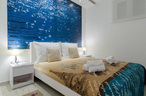 Posteľ alebo postele v izbe v ubytovaní Apartment Carmen