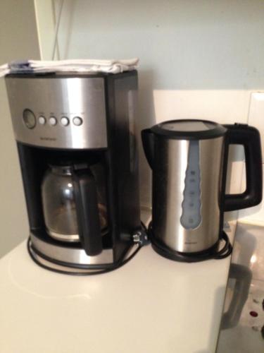 Coffee and tea-making facilities at Lyon Berthelot