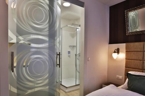 Kúpeľňa v ubytovaní VIP Apartments
