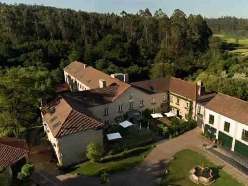 Vue panoramique sur l'établissement A Quinta Da Auga Hotel Spa Relais & Chateaux
