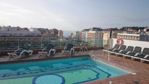 The swimming pool at or near Hotel Astoria Park