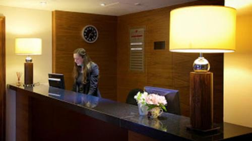 The lobby or reception area at Stourport Manor Hotel, Sure Hotel Collection by Best Western