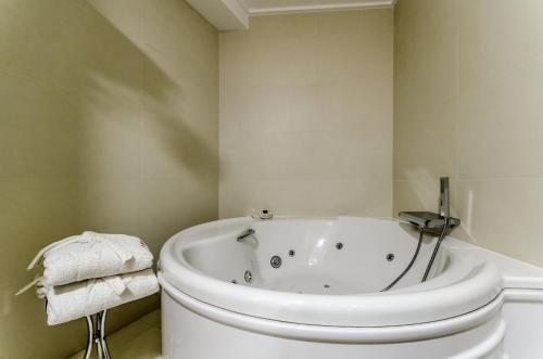 A bathroom at Hotel Princess