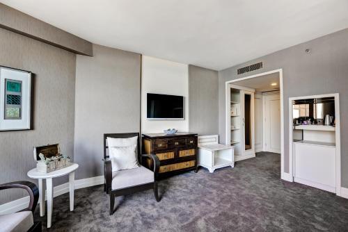 Zona de estar de Suhan360 Hotel & Spa