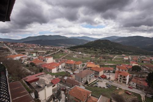Άποψη από ψηλά του Anesis Hotel