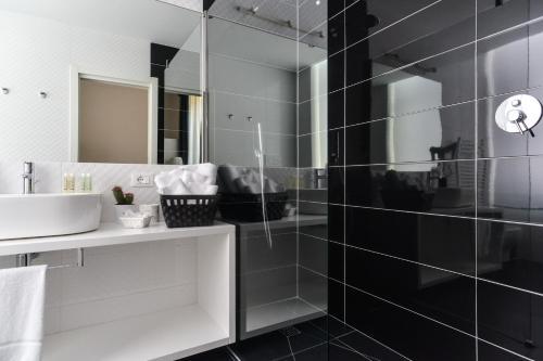 Salle de bains dans l'établissement Lata Luxury Rooms