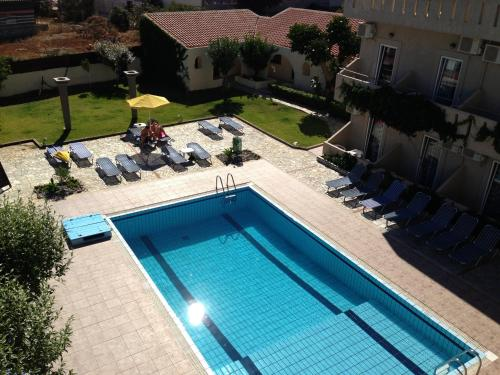 """A view of the pool at Despina Apartments """"by Checkin"""" or nearby"""