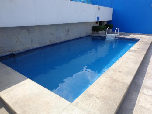 The swimming pool at or near GS Cuernavaca