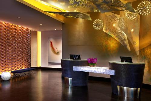 The lobby or reception area at W Los Angeles – West Beverly Hills
