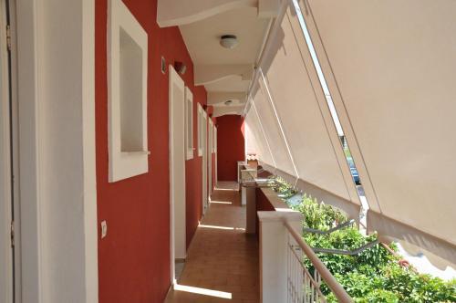 A balcony or terrace at Koskinas Apartments