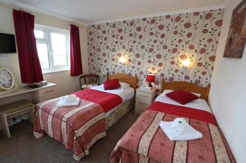 A room at Dorset Hotel, Isle of Wight