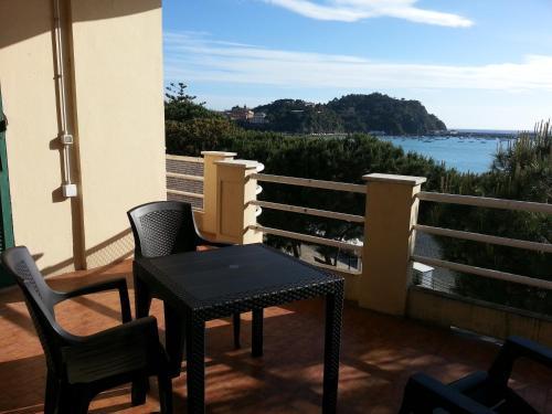 A balcony or terrace at Baia delle Favole