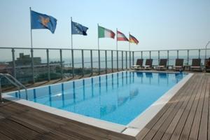 Bazén v ubytování Hotel Villa Doimo nebo v jeho okolí