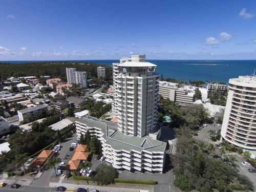 Vue panoramique sur l'établissement Ramada Hotel & Suites by Wyndham Noumea