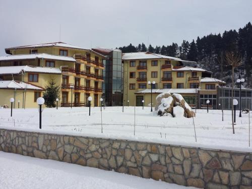 Термальный спа-отель Римская Баня зимой