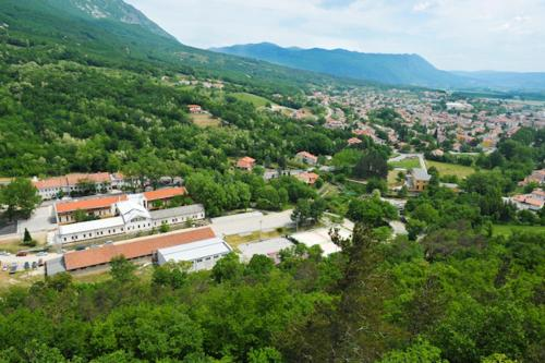 A bird's-eye view of Youth Hostel Ajdovscina