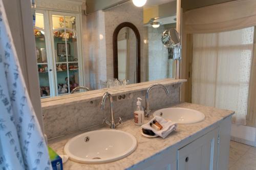 Een badkamer bij B&B Herengracht 21