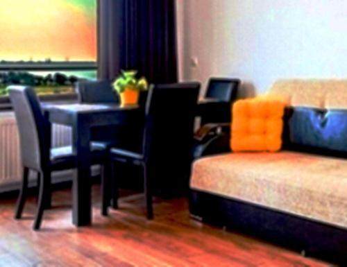 O zonă de relaxare la Studio Apartment Sofia