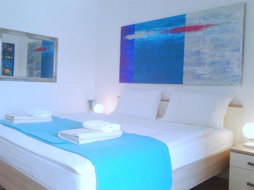 Кровать или кровати в номере Rooms Kata