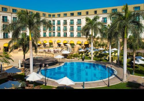 The swimming pool at or near Concorde El Salam Cairo Hotel & Casino