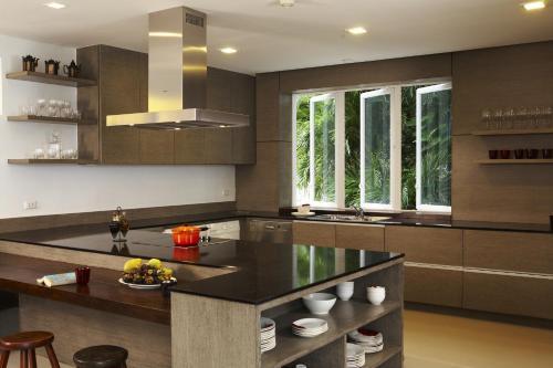 مطبخ أو مطبخ صغير في جيرانا باتونغ