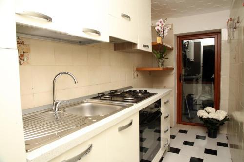 A kitchen or kitchenette at De Amicis Apartment