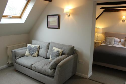 A seating area at The Star Inn