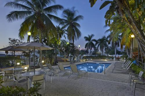 The swimming pool at or near Fairfield Inn & Suites Boca Raton