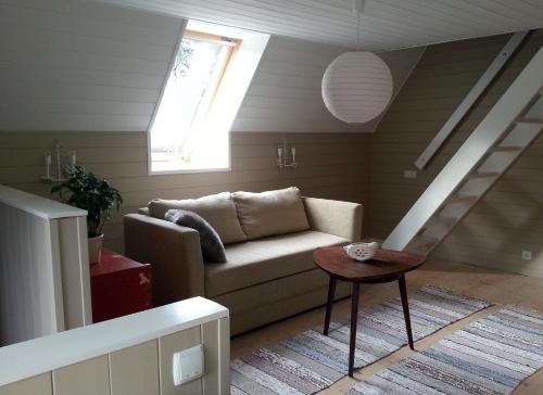 Istumisnurk majutusasutuses Lohusalu Apartment