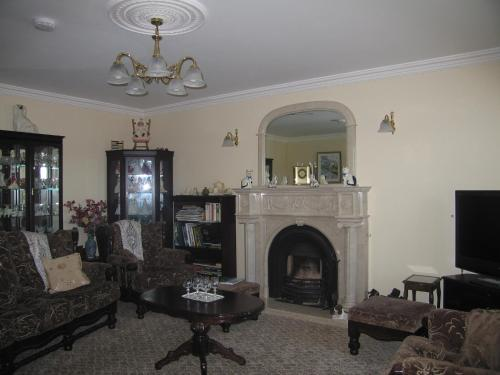 A seating area at Kinvara Inn B&B
