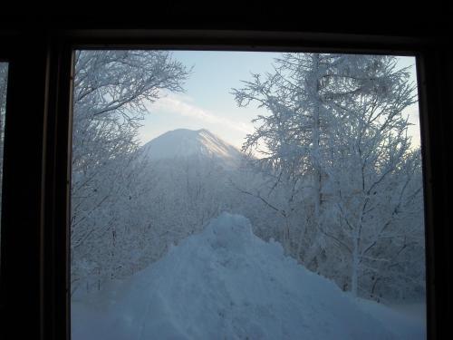 Niseko Shirokuma Cottage during the winter