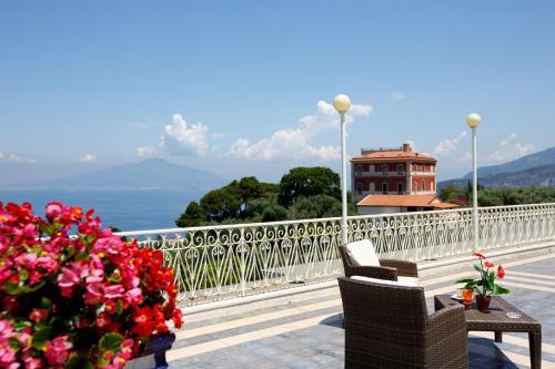 A balcony or terrace at Johanna Park Hotel