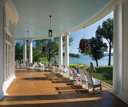 A restaurant or other place to eat at The Otesaga Resort Hotel