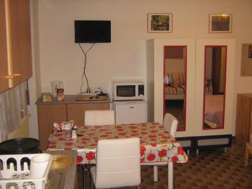 Zona de estar de Flat in Milan 3