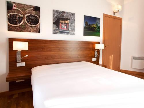 Cama o camas de una habitación en Appart hotel & spa Cerdanya