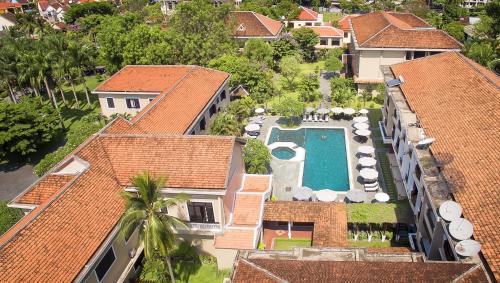 Blick auf The Hoi An Historic Hotel Managed by Melia Hotels International aus der Vogelperspektive