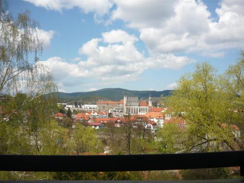 A balcony or terrace at Ubytování Jelínková