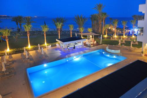 A view of the pool at Okeanos Beach Boutique Hotel or nearby