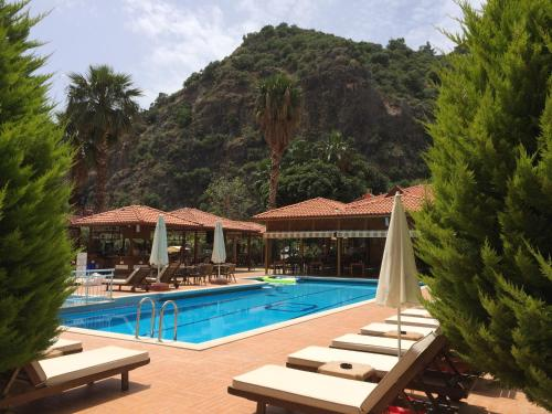 The swimming pool at or near Hotel Oludeniz