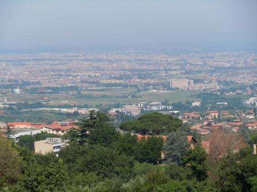 Vista aerea di Villa Vista