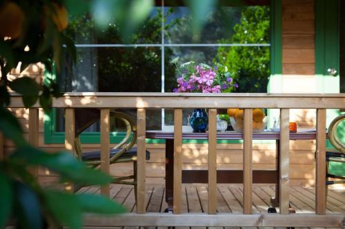 A balcony or terrace at Ekinoks Hotel - Adults Only