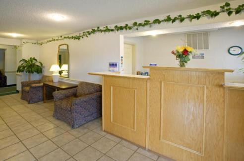 The lobby or reception area at America's Best Value Inn and Suites Albemarle
