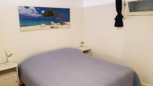 Ein Bett oder Betten in einem Zimmer der Unterkunft Appartement in Zandvoort