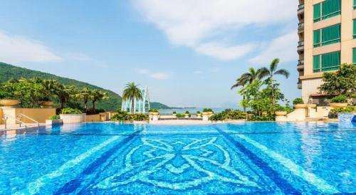 The swimming pool at or near Auberge Discovery Bay Hong Kong