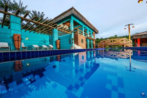 The swimming pool at or near Ecoporan Hotel Charme Spa & Eventos