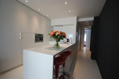 Een keuken of kitchenette bij Luxe Apartment Filine